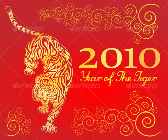Year of The Tiger 3 - New Year Seasons/Holidays