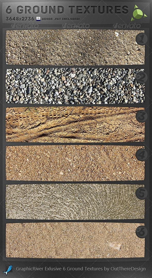 6 Ground Textures - Miscellaneous Textures