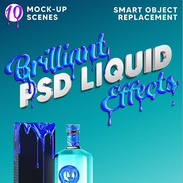 Brilliant 3D Liquid Effects