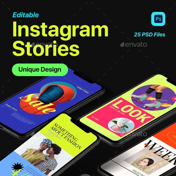 Creative Instagram Stories