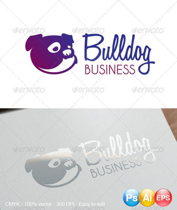 Bulldog Logo - Animals Logo Templates