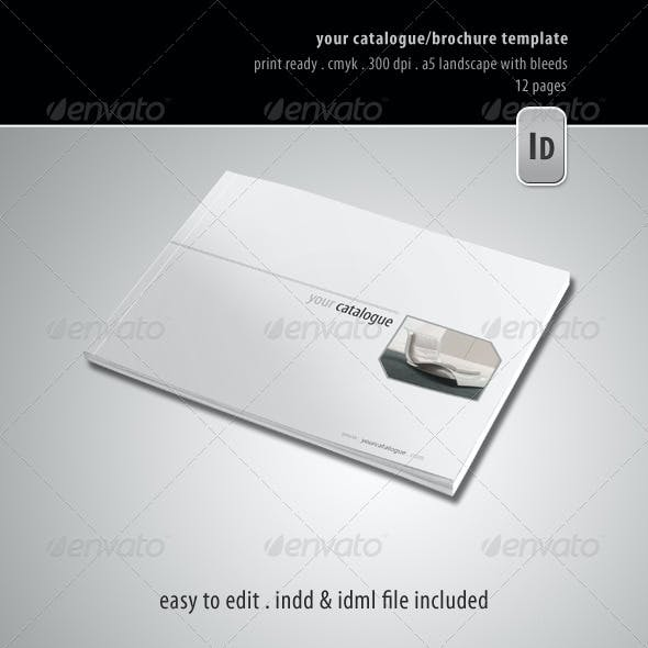 Your Catalogue/Brochure Template