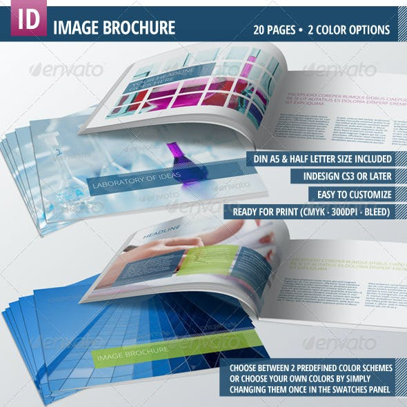 Image Brochure for your Business - Landscape