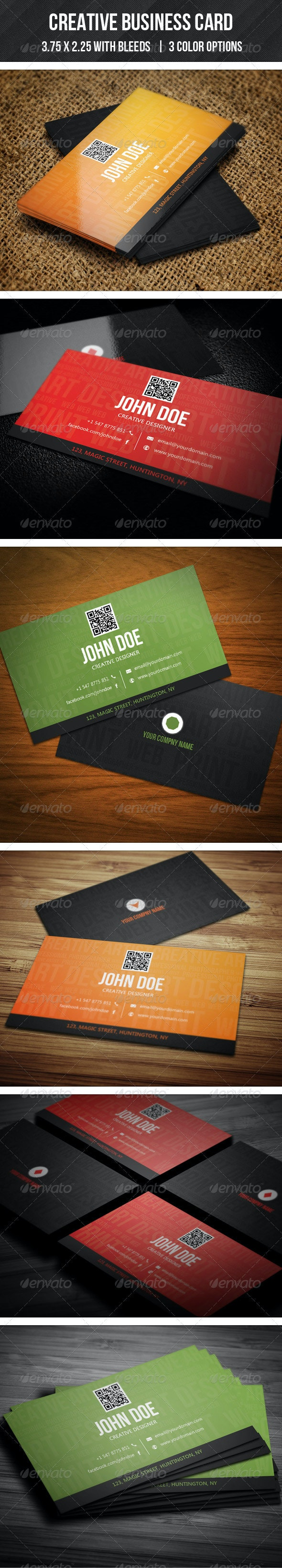 Creative Multiple Business Card  - 01 - Creative Business Cards