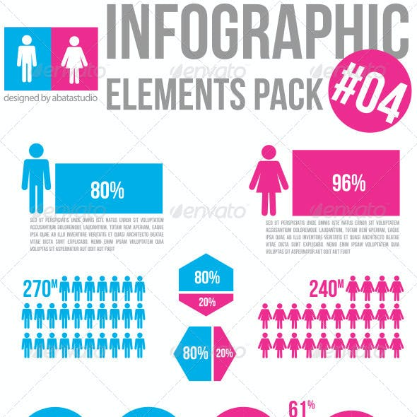 Infographic Elements Pack 04