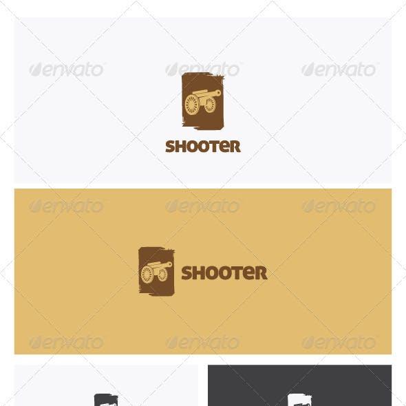 Shooter Logo Template