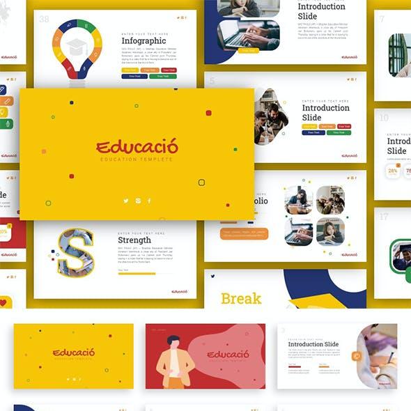 Educacio Education Presentation
