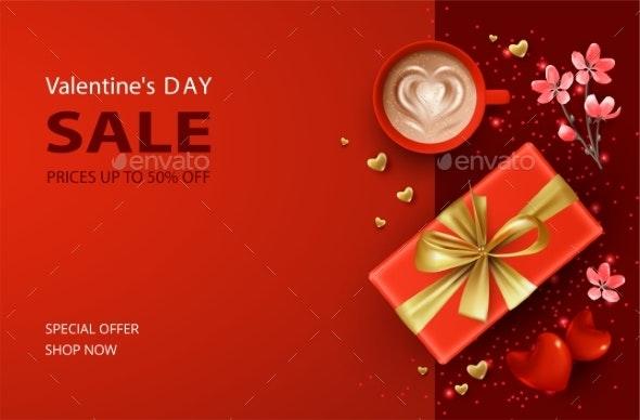 Valentine's Day Banner - Valentines Seasons/Holidays