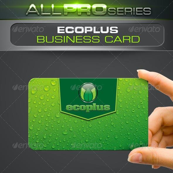Ecoplus Business Card