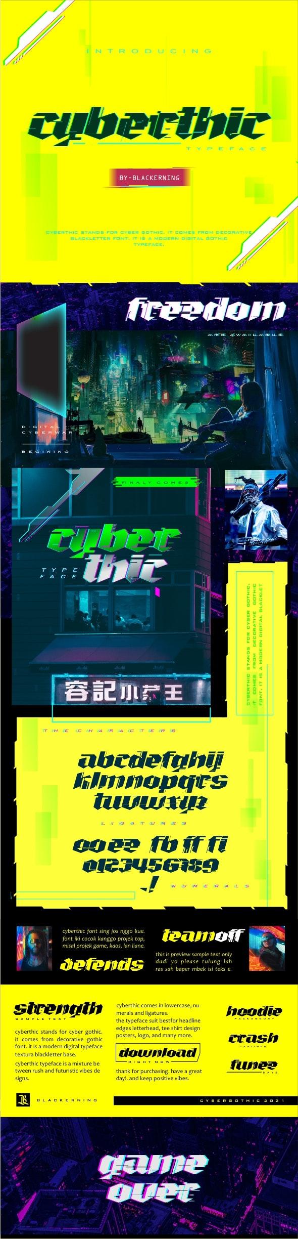 Cyberthic - Futuristic Decorative