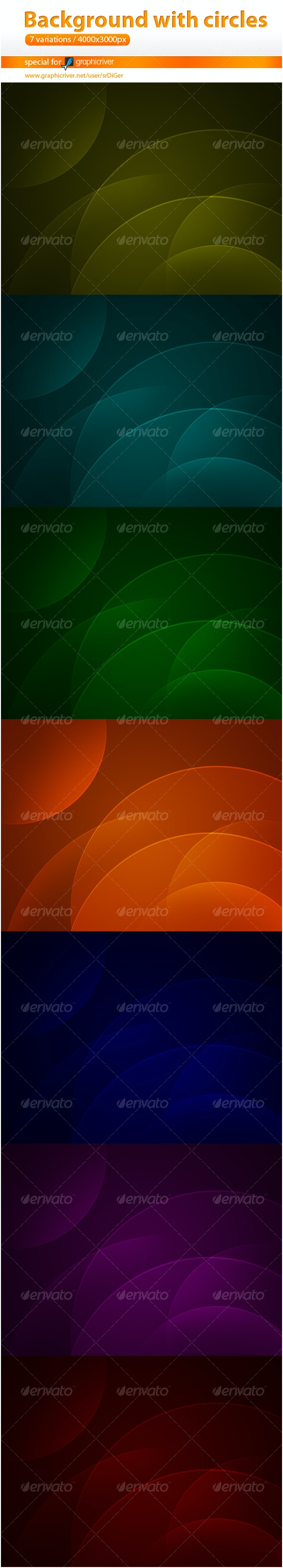 Web 2.0 Background with circles - Backgrounds Graphics