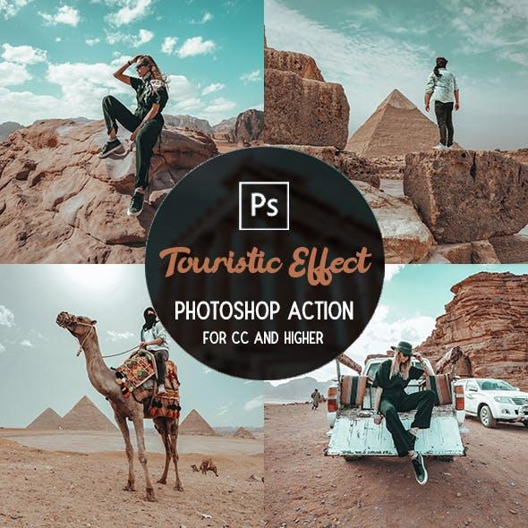 Touristic Effect - Photoshop Action
