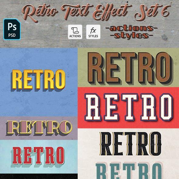 Retro Text Effect