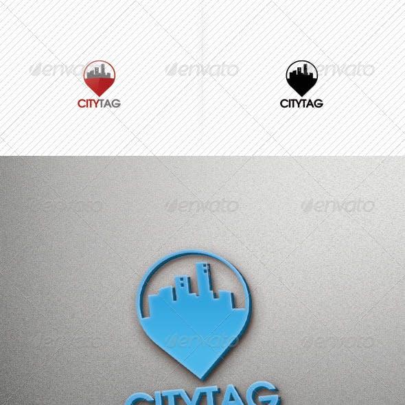 City Tag Logo Template v2