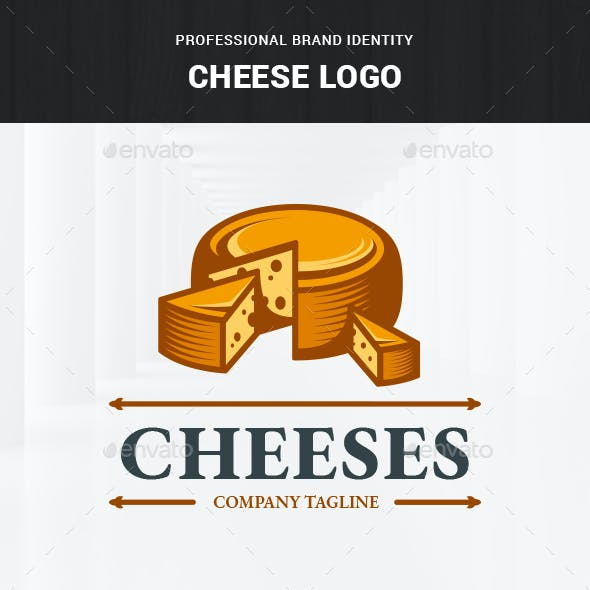 Cheese Logo Template