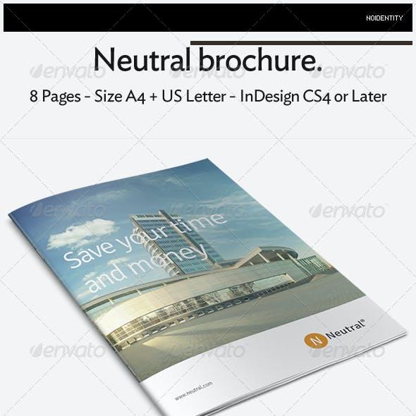 Neutral Brochure
