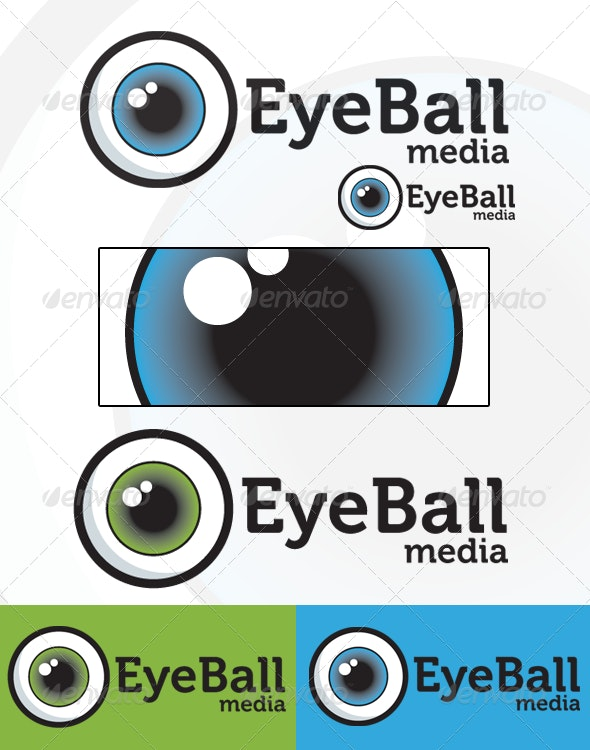 Eye Ball Logo - Humans Logo Templates