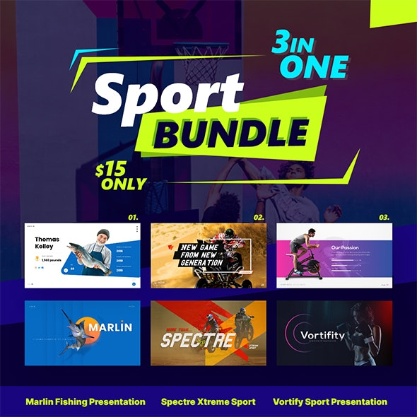 Sport Bundle Powerpoint Presentation Template Fully Animated - Creative PowerPoint Templates