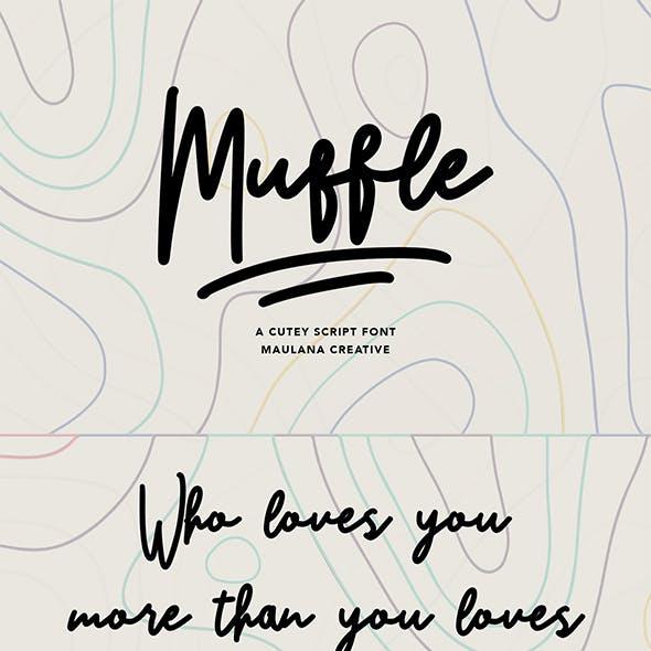 Muffle Cutey Script Font