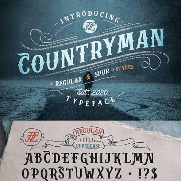 Countryman Typeface + Webfont