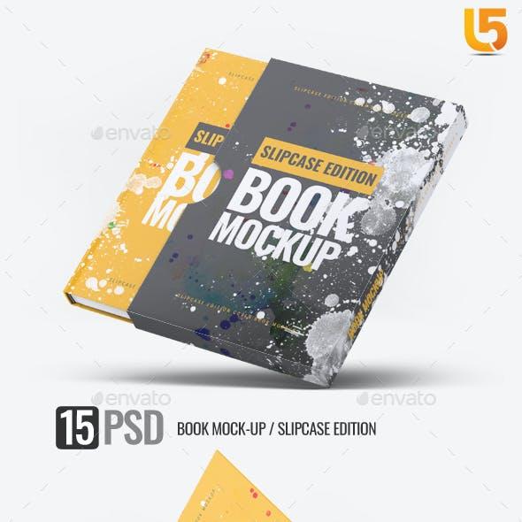 Book Mock-up Slipcase Edition