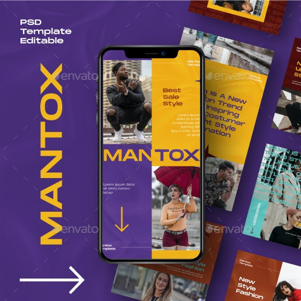 MANTOX Instagram Template