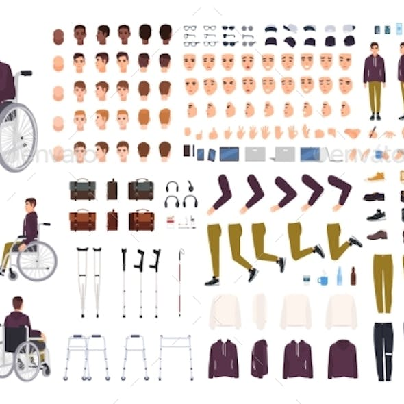 Disabled Teenager Creation Kit