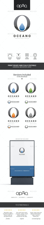 Oceanic O Letter Logo - Letters Logo Templates