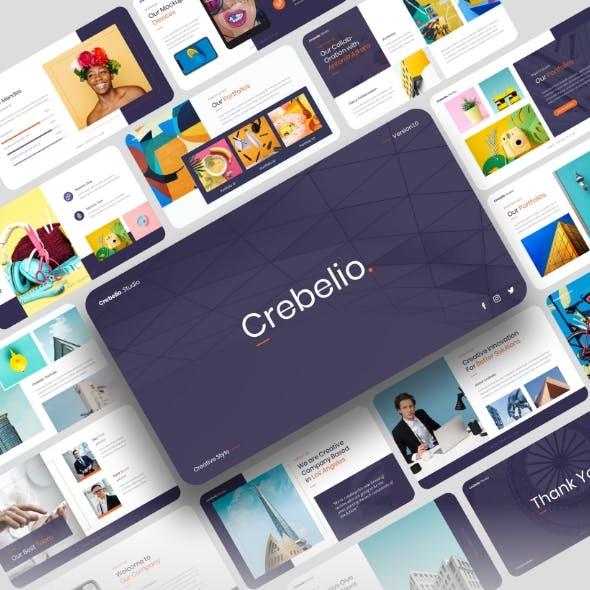 Crebelio - Creative Business Keynote Template