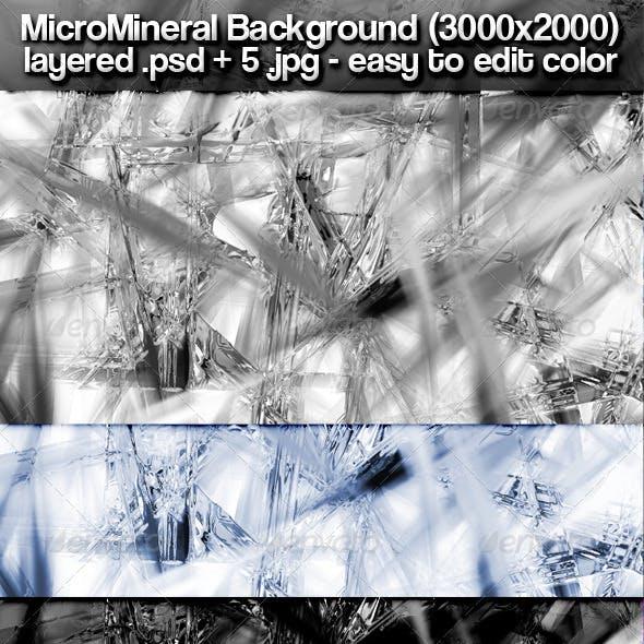 Micro Minerals Background