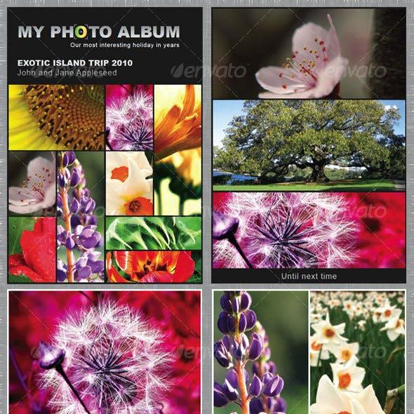 Elegant Photo Album 12 pages