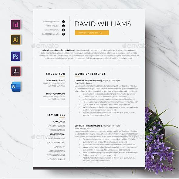 Minimal Resume / CV Template