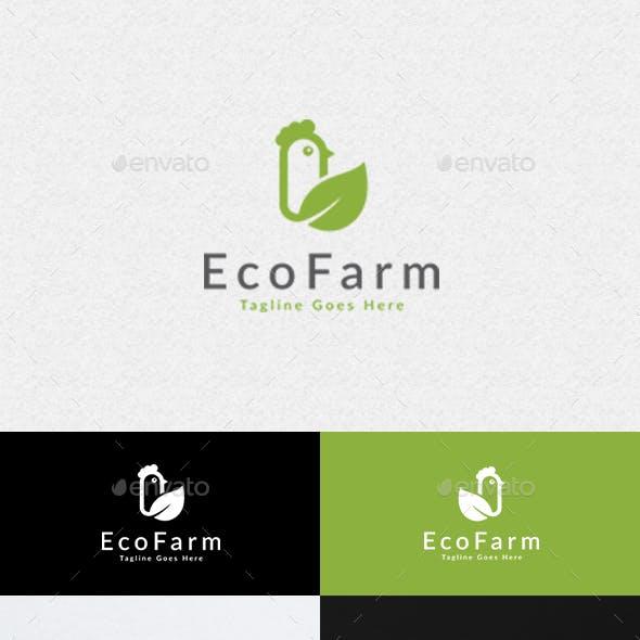 Eco Chicken Farm Logo