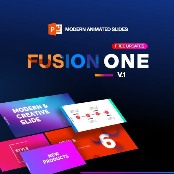 Fusion One Template v1.0 Modern Animated
