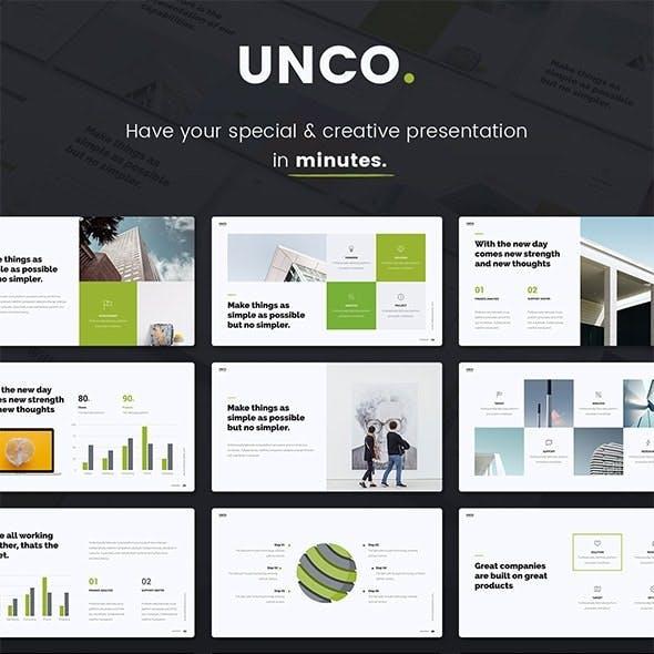 UNCO - Google Slides Presentation Template (SHIFT Builder)