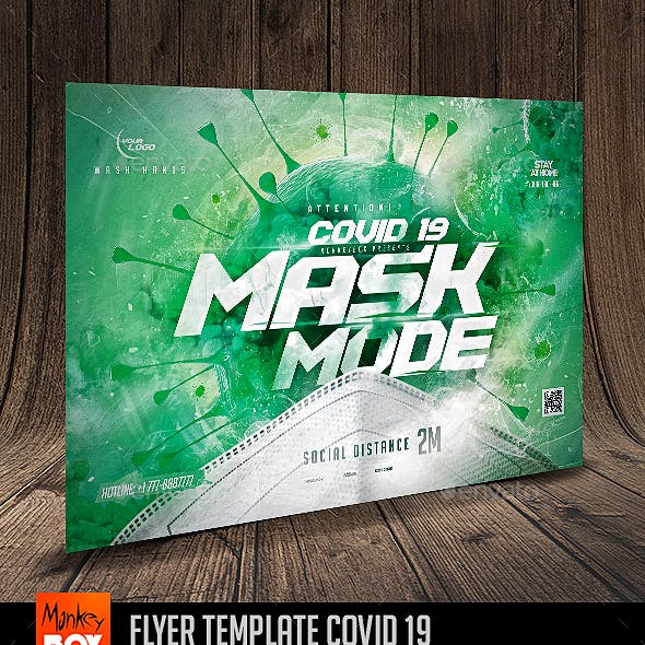 Flyer Template Covid 19