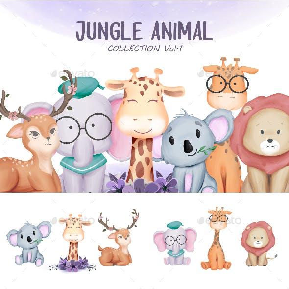 Jungle Animal Vol.1