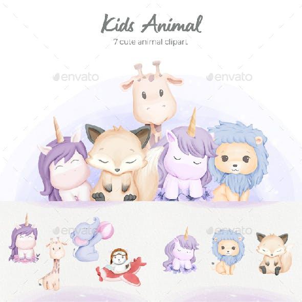 Kids Animal Collection Vol.1