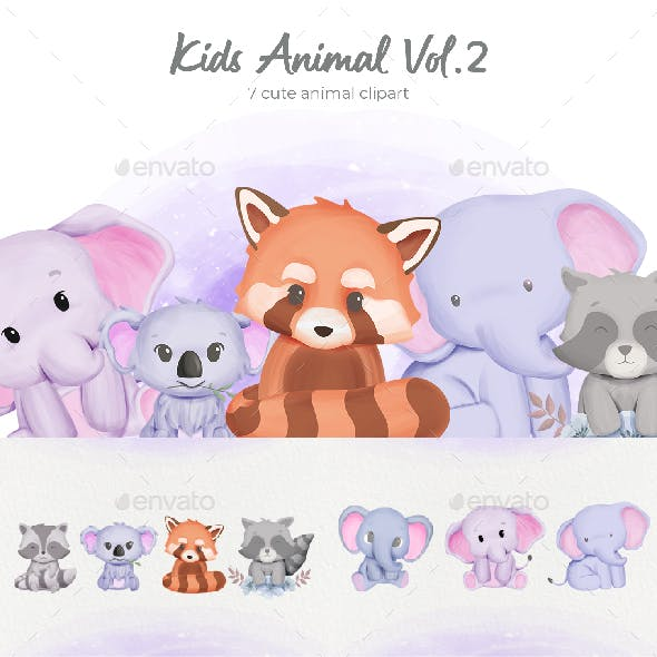 Kids Animal Collection Vol.2