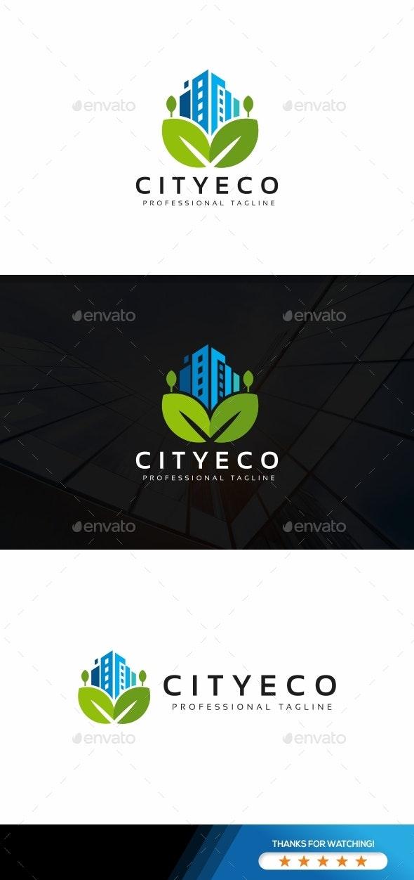 City Eco Logo - Buildings Logo Templates