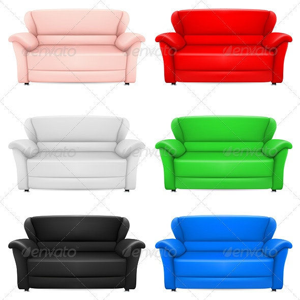 Sofas - Man-made Objects Objects
