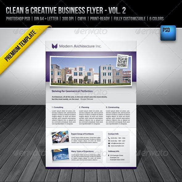 Clean & Creative Business Flyer - Vol. 2