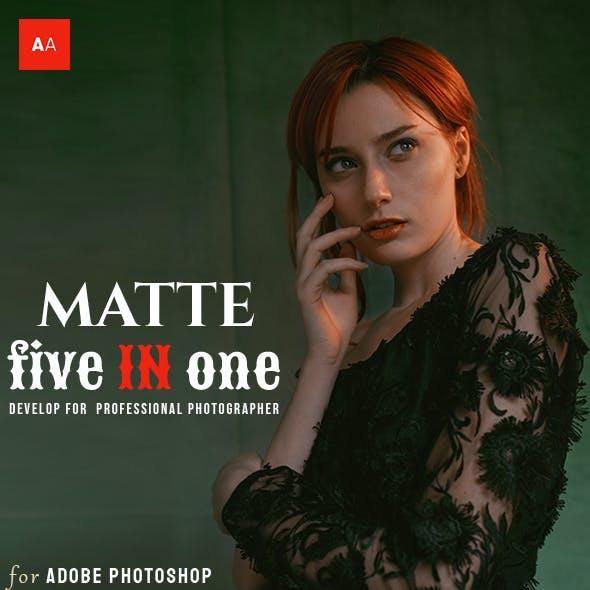 Matte Effect - Photoshop Actions