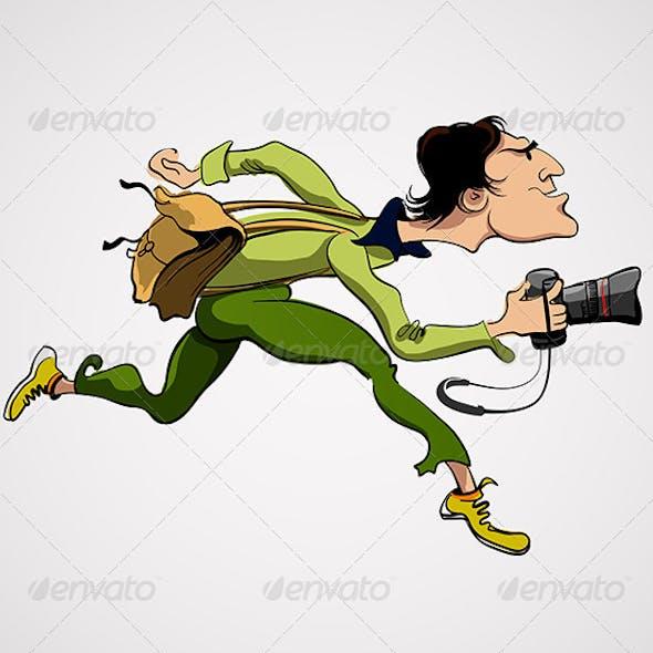Photographer Vector Illustration