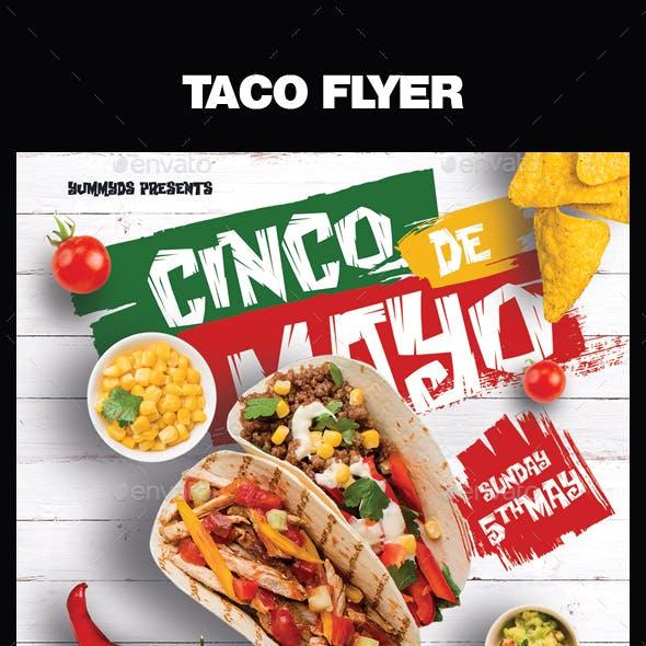 Tacos Flyer