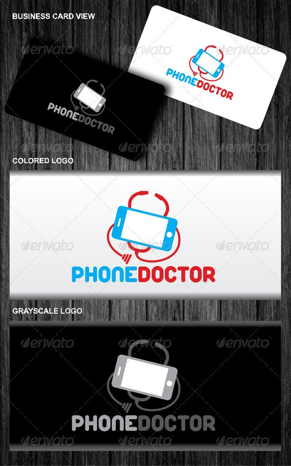 Phone Doctor Logo - Symbols Logo Templates