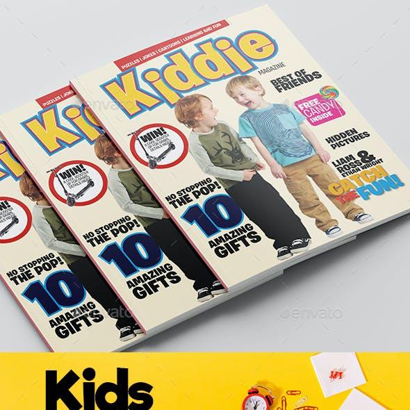 Kids Magazine Template
