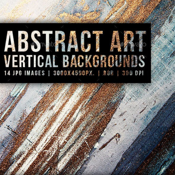 Abstract Art Vertical Backgrounds