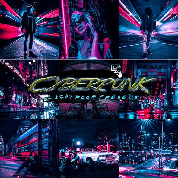 Cyberpunk Lightroom Presets Mobile and Desktop