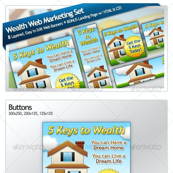 Wealth Web Marketing Set